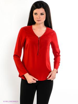 Блузка adL. Цвет: красный