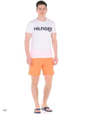Бордшорты Tommy Hilfiger. Цвет: оранжевый
