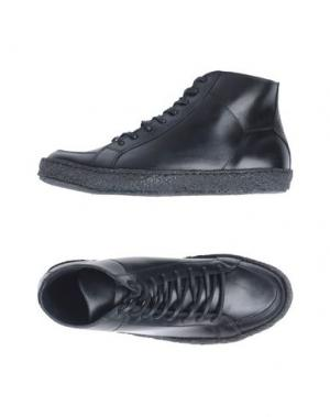 Высокие кеды и кроссовки PANTOFOLA D'ORO. Цвет: черный