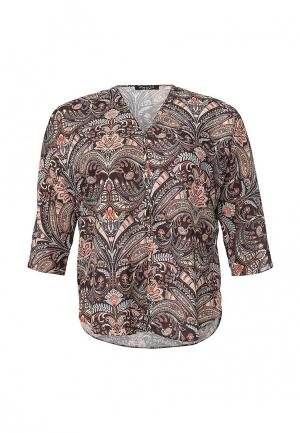 Блуза Love My Body. Цвет: разноцветный