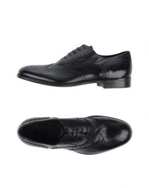 Обувь на шнурках ROLANDO STURLINI. Цвет: черный