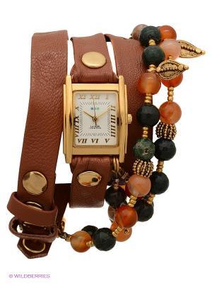 Часы La Mer Collections. Цвет: темно-бежевый
