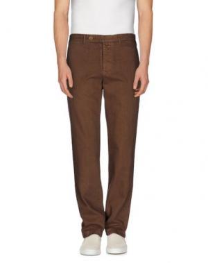 Джинсовые брюки ALAIN FRACASSÍ. Цвет: какао