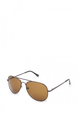 Очки солнцезащитные Modis. Цвет: коричневый