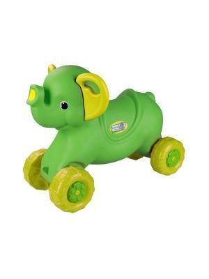 Каталка детская Слонёнок (салатовый) Альтернатива. Цвет: зеленый, салатовый