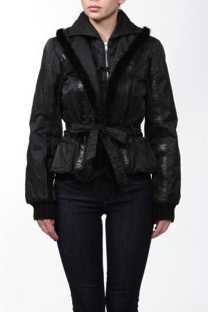 Куртка Mazzi. Цвет: черный