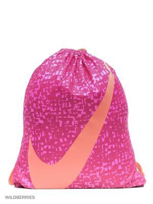 Рюкзак NIKE YA GRAPHIC GYMSACK. Цвет: фиолетовый