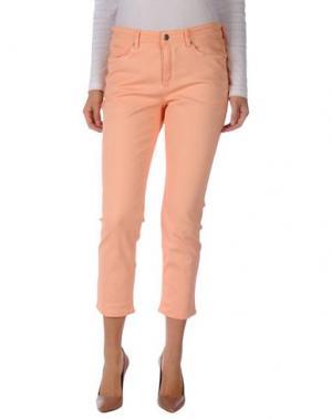 Джинсовые брюки CAMBIO. Цвет: лососево-розовый