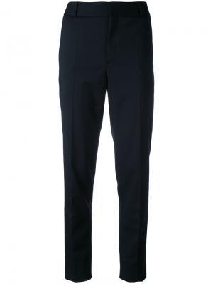 Классические брюки Saint Laurent. Цвет: чёрный