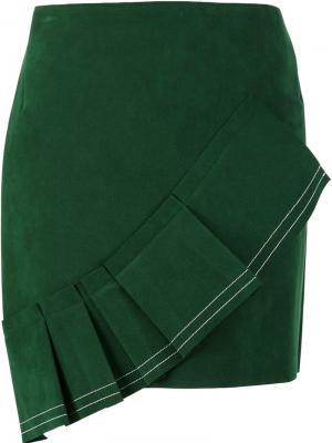 Юбка La Jupe Jacquemus. Цвет: зелёный