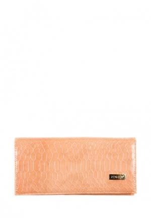 Кошелек Zinger. Цвет: оранжевый