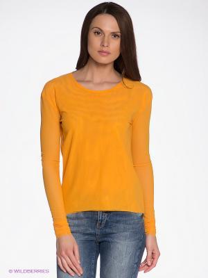 Лонгслив Vero moda. Цвет: желтый