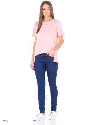 Женские джинсы Imajeans. Цвет: темно-синий