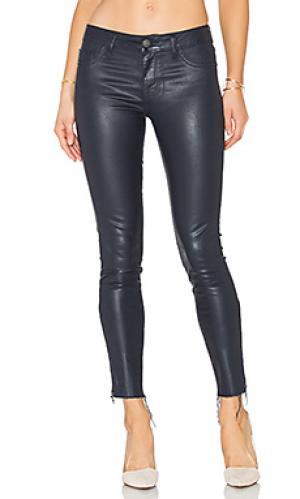 Укороченные узкие джинсы с покрытием margaux DL1961. Цвет: none