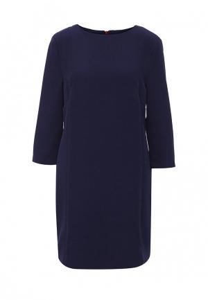 Платье AngelEye London. Цвет: синий