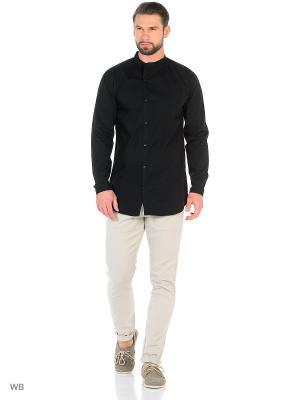 Рубашка LINDBERGH. Цвет: черный