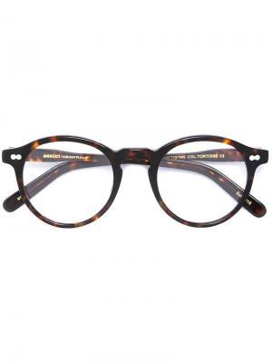 Очки Miltzen Moscot. Цвет: коричневый