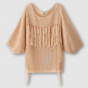 Пуловер MOLLY BRACKEN. Цвет: бежевый,бледно-розовый