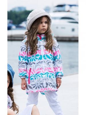 Куртка atPlay. Цвет: светло-серый, розовый