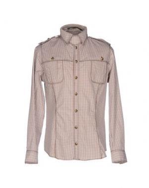 Pубашка GAETANO NAVARRA. Цвет: темно-коричневый