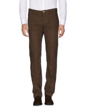 Повседневные брюки JEY COLE MAN. Цвет: какао