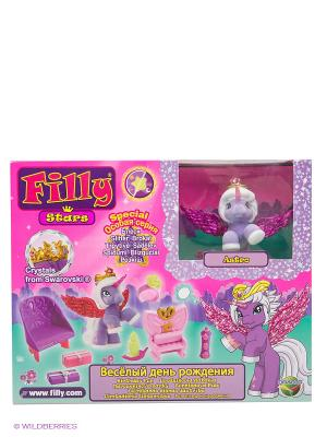 Игровой набор лошадки Филли.Filly Звезды Astro Dracco. Цвет: розовый