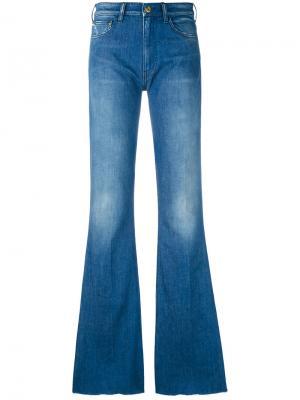 Расклешенные джинсы Cycle. Цвет: синий
