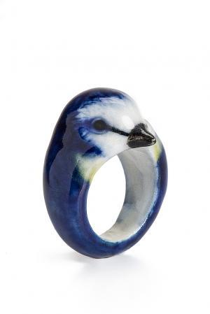 Кольцо 170107 Nach Jewellery. Цвет: синий