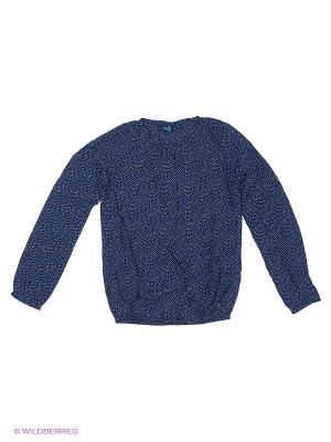 Блузка TOM TAILOR. Цвет: синий