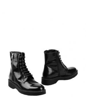 Полусапоги и высокие ботинки GEORGE J. LOVE. Цвет: черный