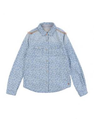 Джинсовая рубашка SCOTCH R'BELLE. Цвет: синий