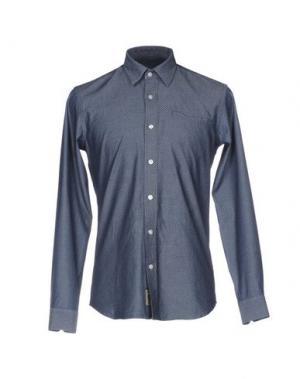 Джинсовая рубашка GALVANNI. Цвет: синий