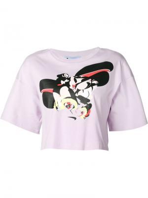 Кофты Minjukim. Цвет: розовый и фиолетовый