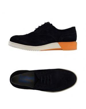 Обувь на шнурках ANTHONY MILES. Цвет: темно-синий