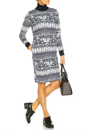 Платье Rocawear. Цвет: серый, синий