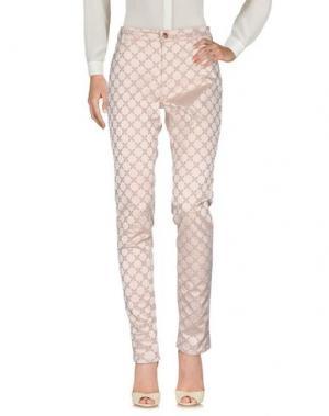 Повседневные брюки XANDRES. Цвет: голубиный серый