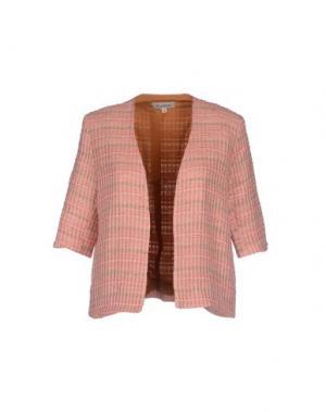 Пиджак TUCKER. Цвет: розовый