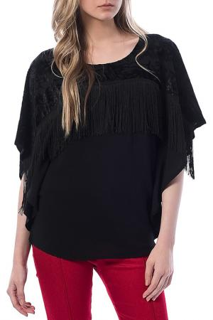 Блуза Dewberry. Цвет: черный