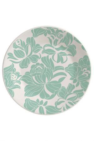 Тарелка обеденная 24 см Biona. Цвет: белый