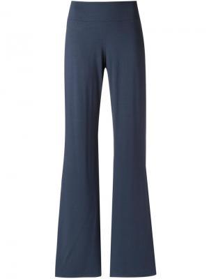 Расклешенные брюки Lygia & Nanny. Цвет: синий