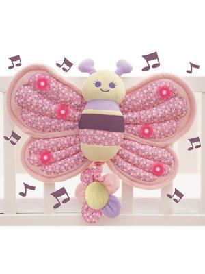 Музыкальная игрушка бабочка Little Bird Told Me. Цвет: розовый