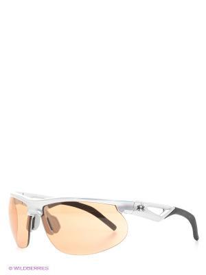 Очки солнцезащитные LM 500 83 La Martina. Цвет: серебристый