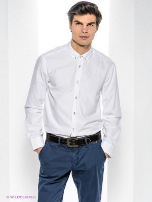Рубашка Bogner Jeans. Цвет: белый
