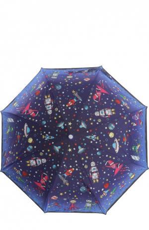 Зонт Moschino. Цвет: темно-синий