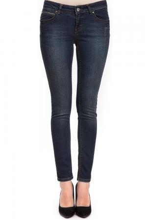 Модные джинсы Passport. Цвет: синий