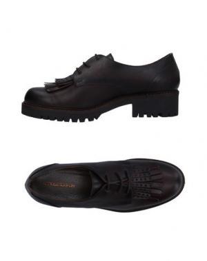 Обувь на шнурках ANGELA GEORGE. Цвет: темно-коричневый