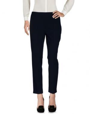 Повседневные брюки MAESTA. Цвет: темно-синий