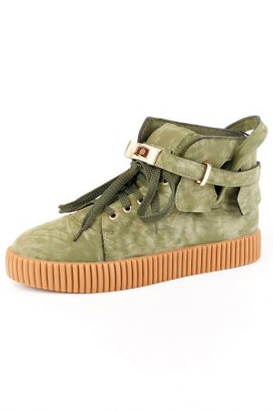 Ботинки Vita Ricca. Цвет: зеленый