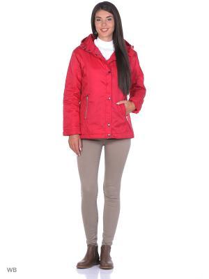 Куртка женская, цвет красный Montana. Цвет: красный