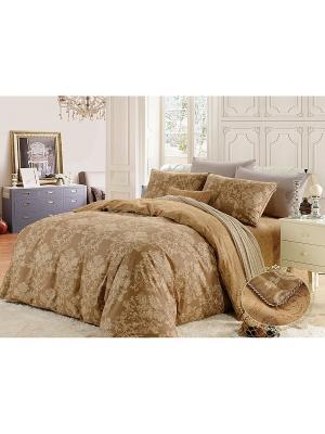 Комплект постельного белья, Амадео, 1.5 спальный KAZANOV.A.. Цвет: бежевый